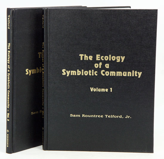 The ecology of a symbiotic community. Sam Rountree Telford.