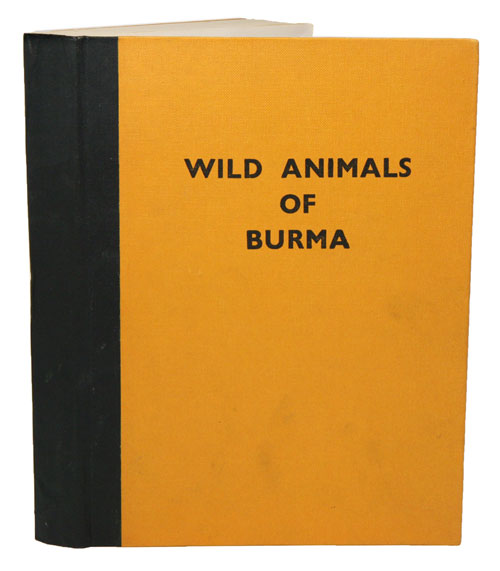 Wild animals of Burma. U. Tun Yin.
