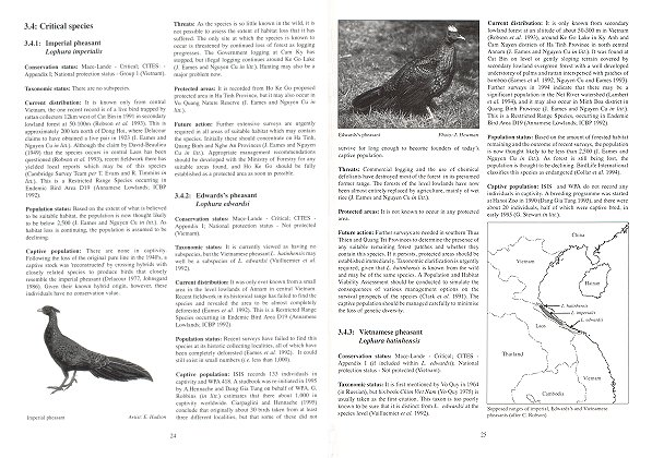 Pheasants: Status Survey and Conservation Action Plan 1995-1999. Philip McGowan, Peter J. Garson.