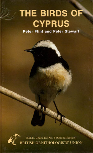 The birds of Cyprus: an annotated checklist. Peter R. Flint, Peter F. Stewart.
