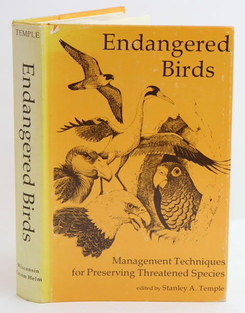 Endangered birds: management techniques for preserving threatened species. Stanley A. Temple.