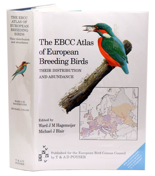 The EBCC atlas of European breeding birds: their distribution and abundance. Ward Hagemeier, Michael Blair.