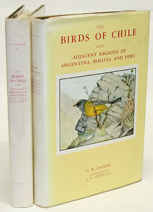 The birds of Chile and adjacent regions of Argentina, Bolivia and Peru. A. W. Johnson, J. D. Goodall.