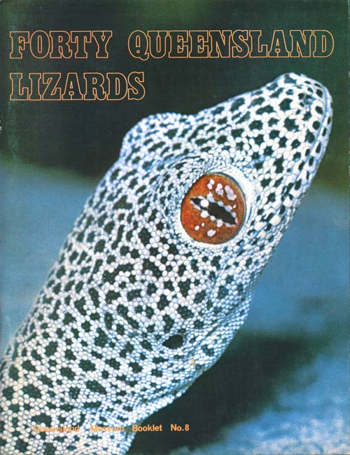 Forty Queensland lizards. Floyd D. Dale.