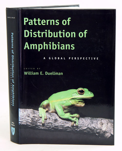 Patterns of distribution of amphibians: a global perspective. William E. Duellman.