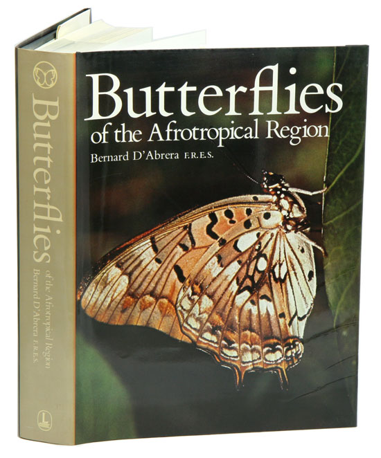 Butterflies of the Afrotropical Region. Based on synonymic catalogue of the Butterflies of the Ethiopian Region by R. H. Carcasson. Bernard D'Abrera.