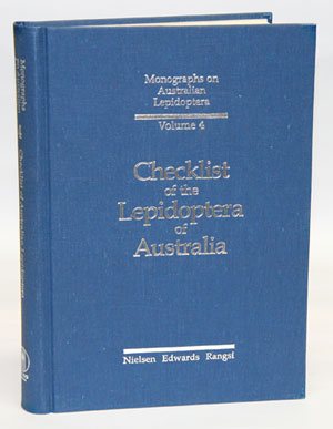 Checklist of the Lepidoptera of Australia. E. S. Nielsen.