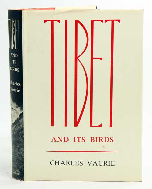 Tibet and its birds. Charles Vaurie.