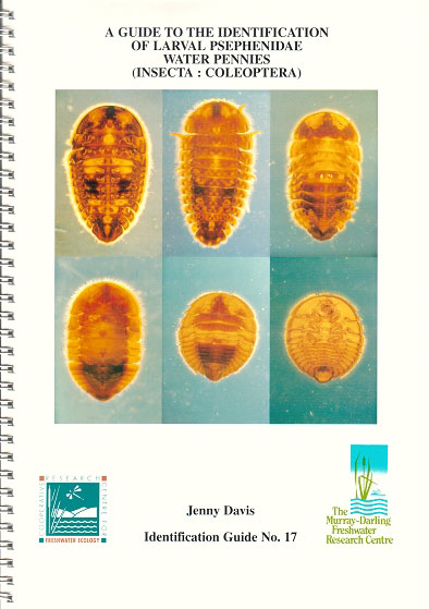 A guide to the identification of larval Psepehnidae water pennies. (Insecta: Coleoptera). Jenny Davis.