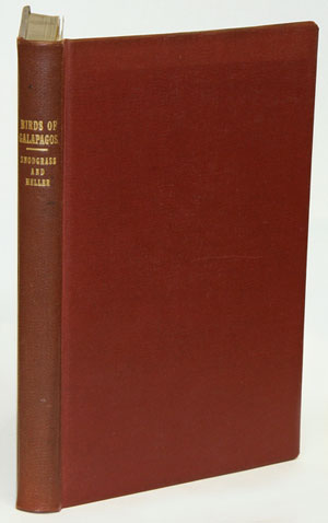 Papers from the Hopkins-Stanford Galapagos expedition, 1898-1899, [volume sixteen]: birds. Rober Evans Snodgrass, Edmund Heller.