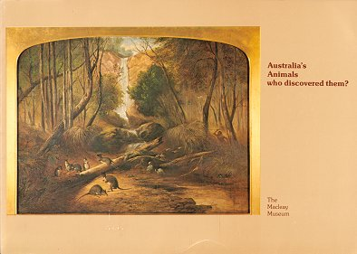 Australia's animals: who discovered them? Peter Stanbury.