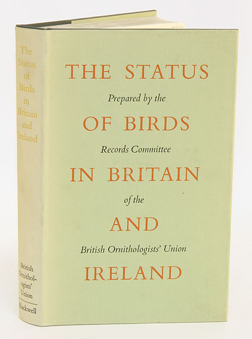 The status of birds in Britain and Ireland. D. W. Snow.