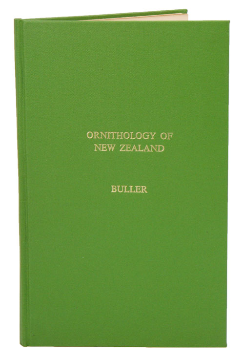 Essay on the ornithology of New Zealand [drop title]. Walter Buller.