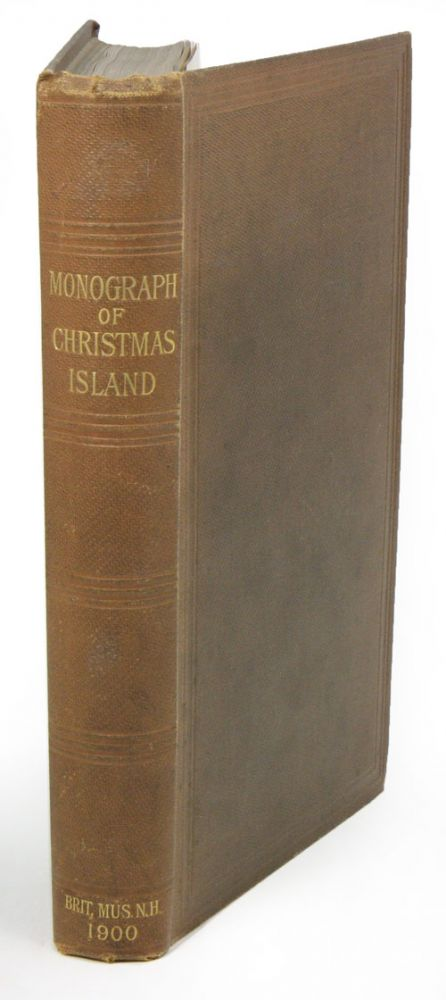 A monograph of Christmas Island (Indian Ocean). Physical features and geology. With descriptions of the fauna and flora. Charles W. A. Andrews.