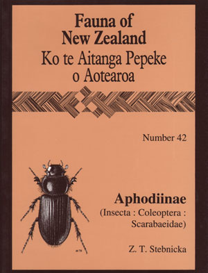 Fauna of New Zealand Number 42: Aphodiinae (Insecta: Coleoptera: Scarabaeidae) Dung Beetles. Z. T. Stebnicka.