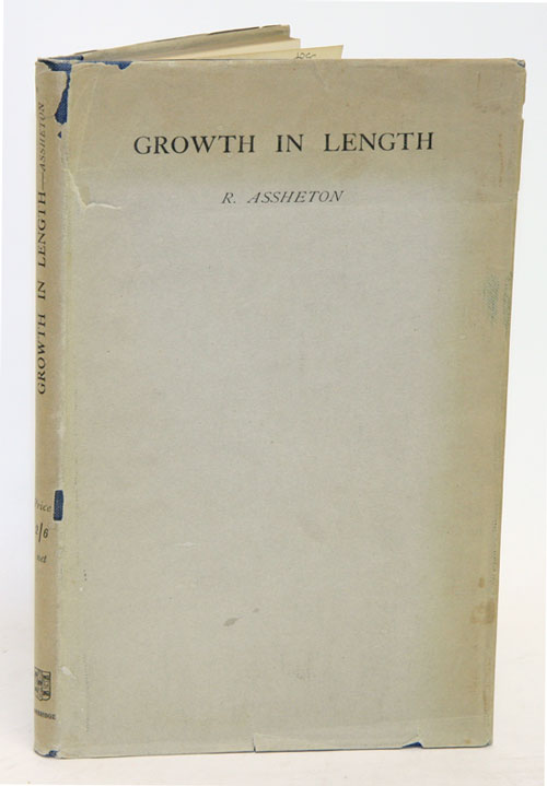 Growth in length: embryological essays. Richard Assheton.