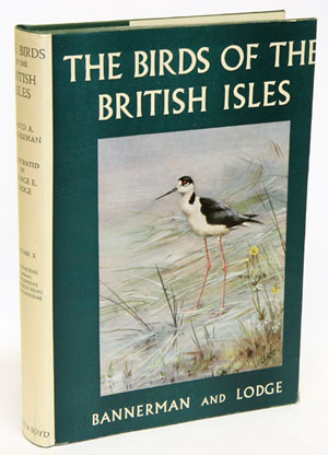The birds of the British Isles, volume ten. David A. Bannerman.