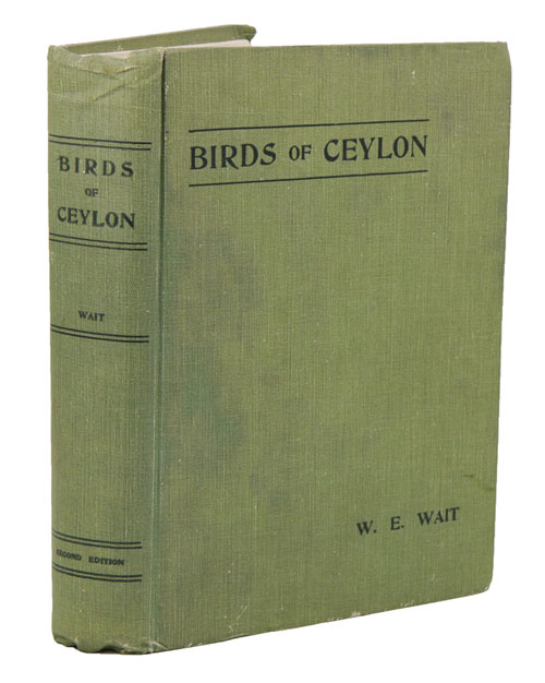 Manual of the Birds of Ceylon. W. E. Wait.