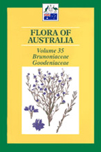 Flora of Australia, volume 35. Brunoniaceae, Goodeniaceae.