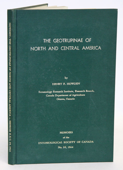 The geotrupinae of North and Central America. Henry F. Howden.