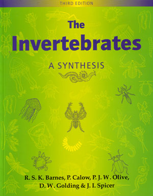 The invertebrates: a synthesis. R. S. K. Barnes.