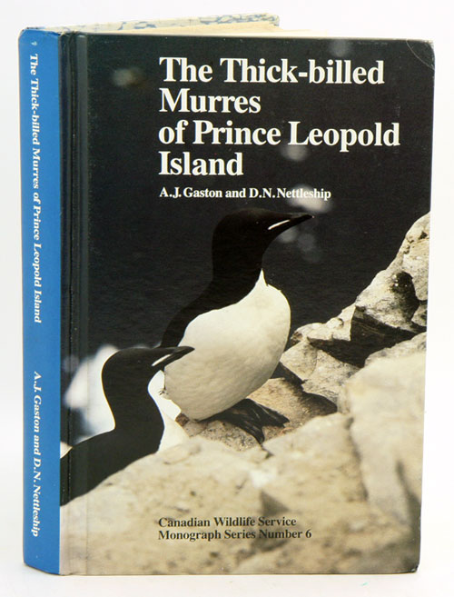 The Thick-billed Murres of Prince Leopold Island: a study of the breeding ecology of a colonial high arctic seabird. A. J. Gaston, D. N. Nettleship.