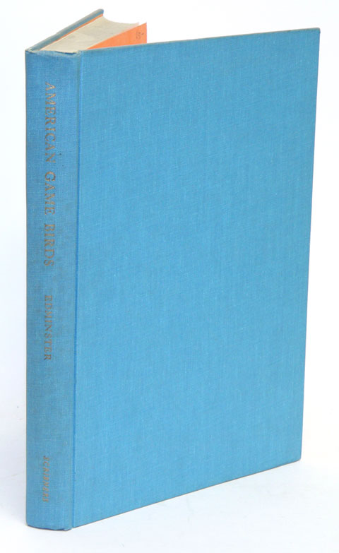 American game birds of field and forest. Frank C. Edminster.