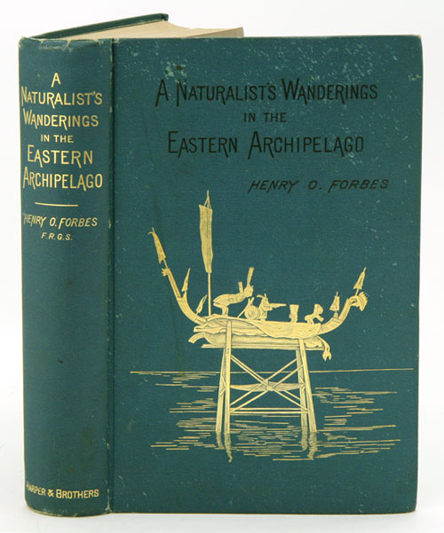 A naturalist's wanderings in the eastern archipelago, a narrative of travel and exploration from 1878 to 1883. Henry O. Forbes.