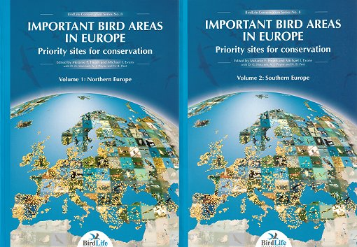 Important bird areas in Europe. M. F. Heath.
