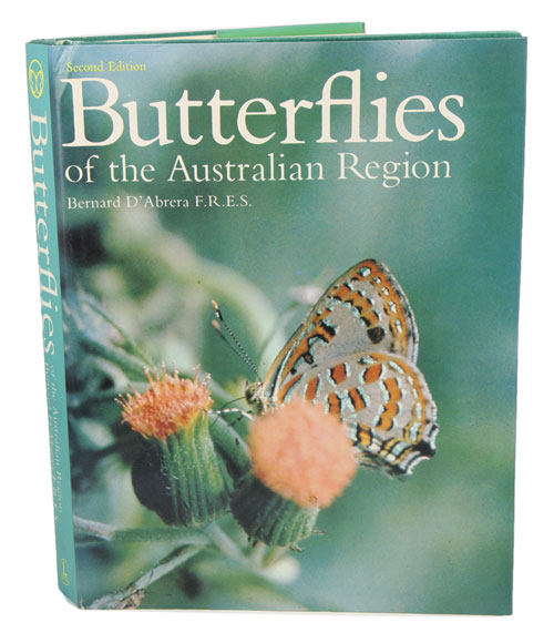 Butterflies of the Australian region. Bernard D'Abrera.