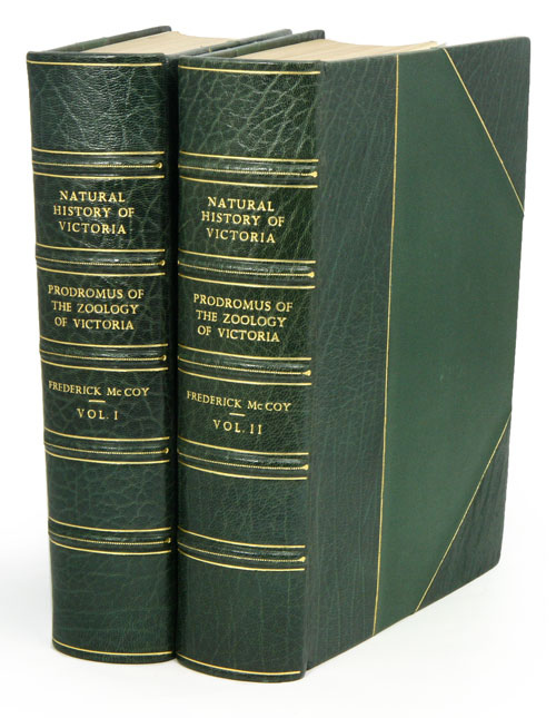 Natural history of Victoria. Prodromus of the zoology of Victoria; or, figures and descriptions of the living species of all classes of the Victorian indigenous animals. Frederick McCoy.