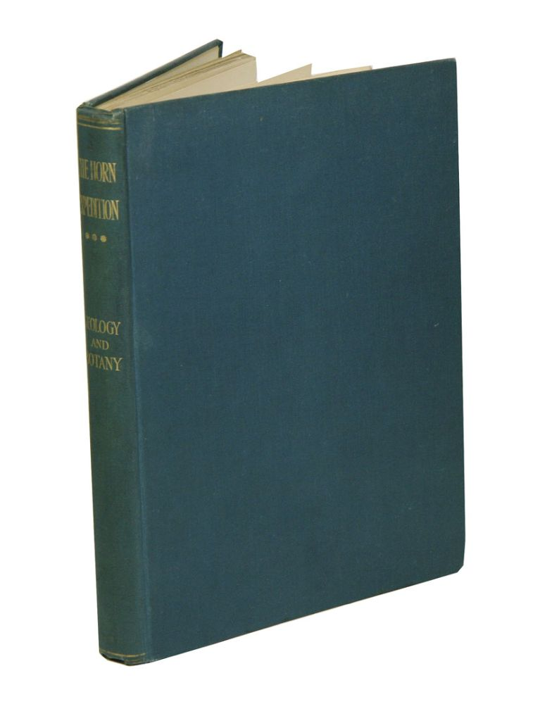 Report on the work of the Horn Expedition to central Australia [volume three only]: geology and botany. Baldwin Spencer.