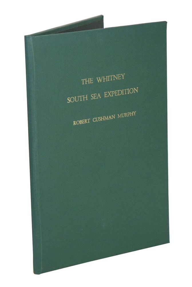 The Whitney South Sea Expedition: a sketch of the bird life of Polynesia. Robert Cushman Murphy.