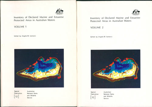 Inventory of declared marine and estuarine protected areas in Australian waters. Angela M. Ivanovici.
