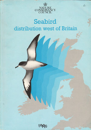Seabird distribution west of Britain. Andrew Webb.