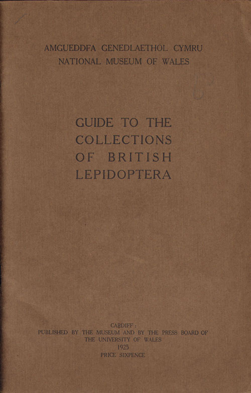 Guide to the collections of British Lepidoptera. J. Davy Dean.