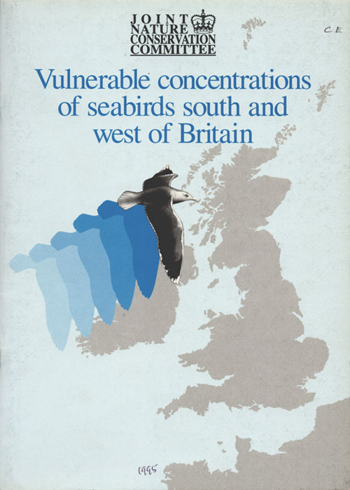 Vulnerable concentrations of seabirds south and west of Britain. Mark L. Tasker, Michael W. Pienkowski.
