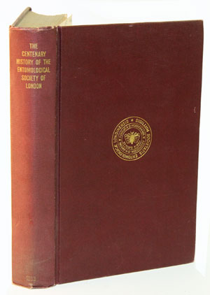 The history of the Entomological Society of London, 1833-1933. S. A. Neave.
