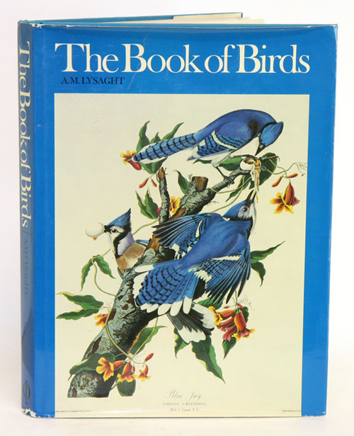 The book of birds: five centuries of bird illustration. A. M. Lysaght.
