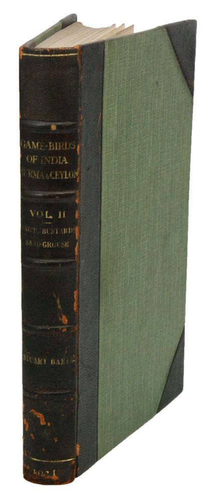 The game-birds of India, Burma and Ceylon: snipe, bustards and sand-grouse, volume two. E. C. Stuart Baker.
