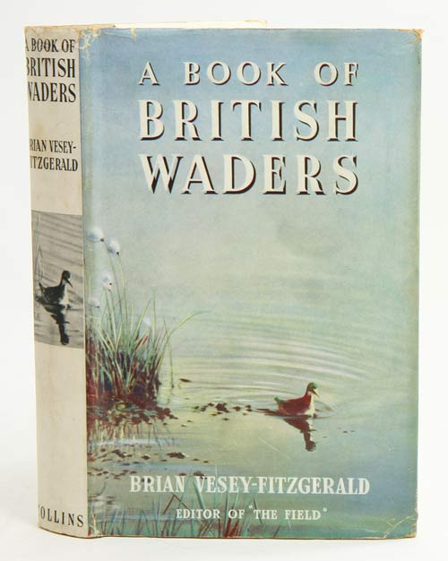 A book of British waders. Brian Vesey-Fitzgerald.
