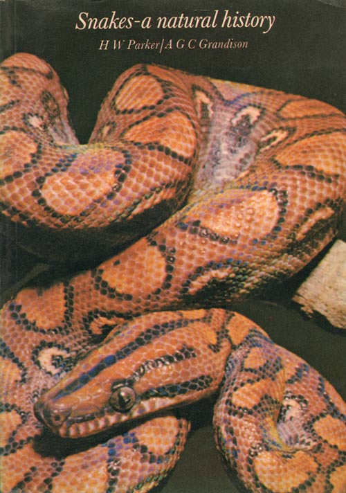 Snakes: a natural history. H. W. Parker, A. G. C. Grandison.