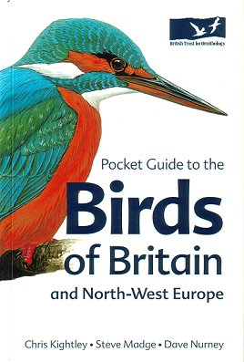 Pocket guide to the birds of Britain and north-west Europe. Chris Kightley.