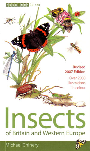 Insects of Britain and western Europe: Domino guide. Michael Chinery.