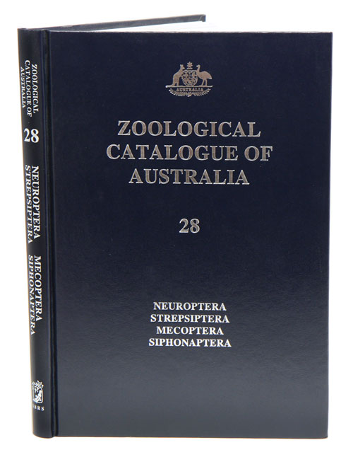Zoological Catalogue of Australia, volume 28: neuroptera, strepsiptera, mecoptera, siphonaptera. A. Wells.