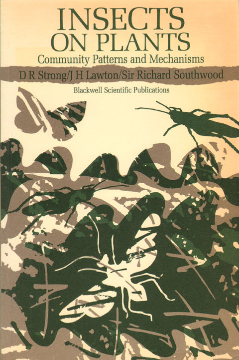 Insects on plants: community patterns and mechanisms. D. R. Strong.