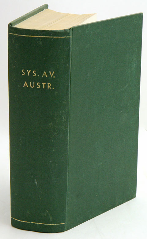 Systema avium Australasianarum: a systematic list of the birds of the Australasian region. Gregory M. Mathews.