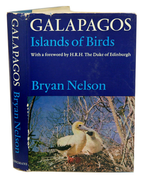 Galapagos: islands of birds. Bryan Nelson.