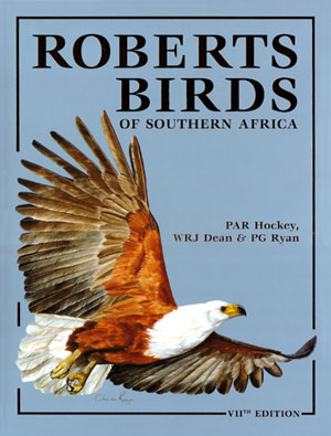 Roberts birds of Southern Africa. Phil Hockey.