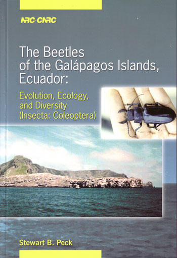 The beetles of the Galapagos, Ecuador: evolution, ecology, and diversity (Insecta: Coleoptera). Stewart B. Peck.